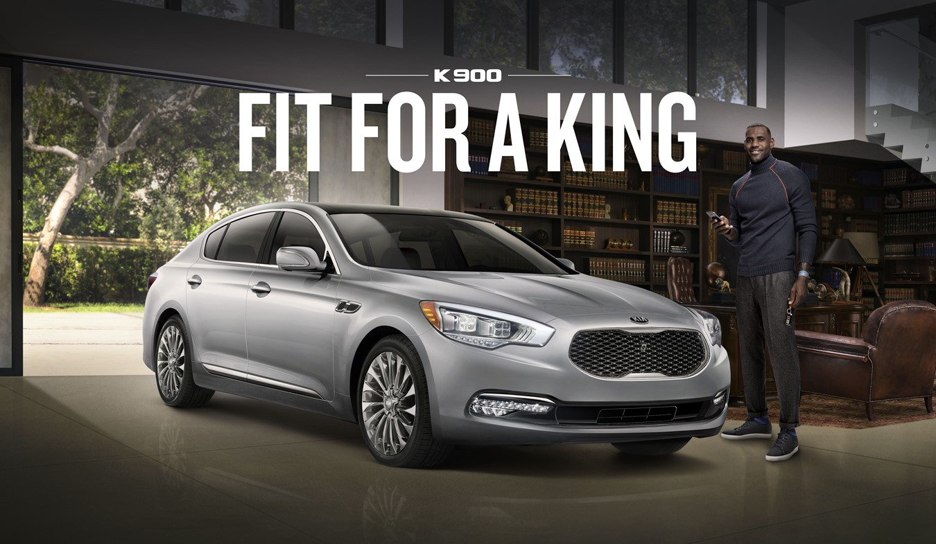 "LEBRON JAMES TELLS ""THE TRUTH"" ABOUT DRIVING HIS KIA K900 LUXURY"
