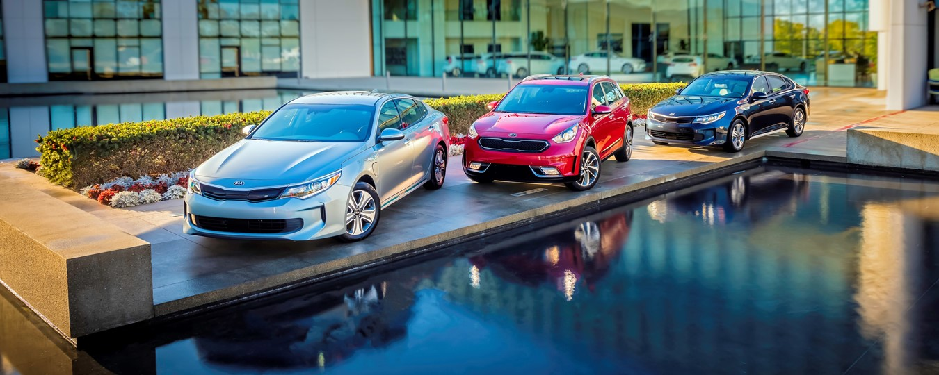 2017 Niro, 2017 Optima Hybrid and 2017 Optima Plug-In Hybrid