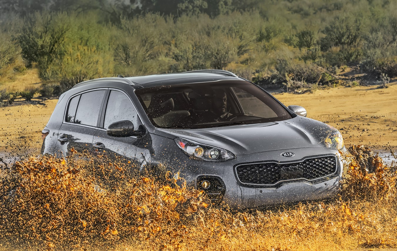 2018 Sportage Intelligent AWD