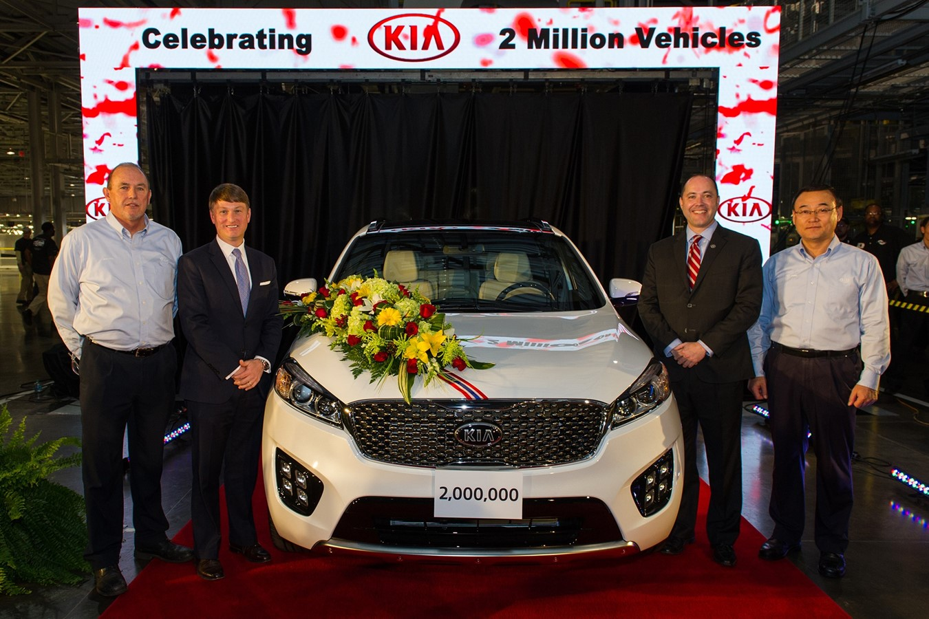 Kia Motors Produces Two Millionth Vehicle in the U.S.