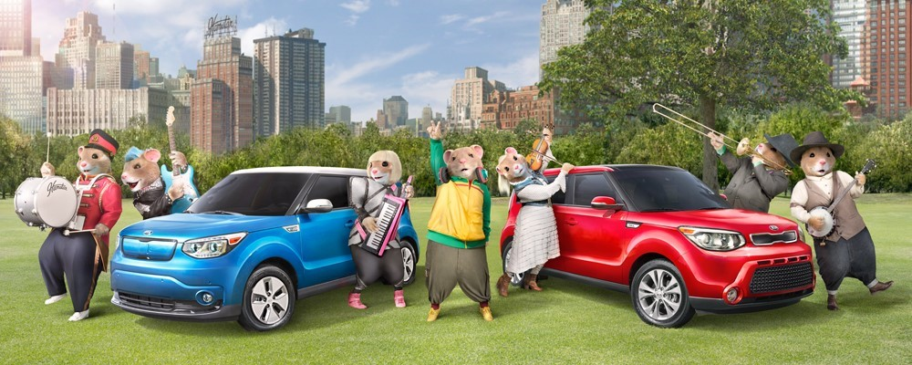 Kia Motors' Music-Loving Hamsters Return to Share the Unifying Power of Music in New Ad Campaign for the Soul Urban Passenger Vehicle