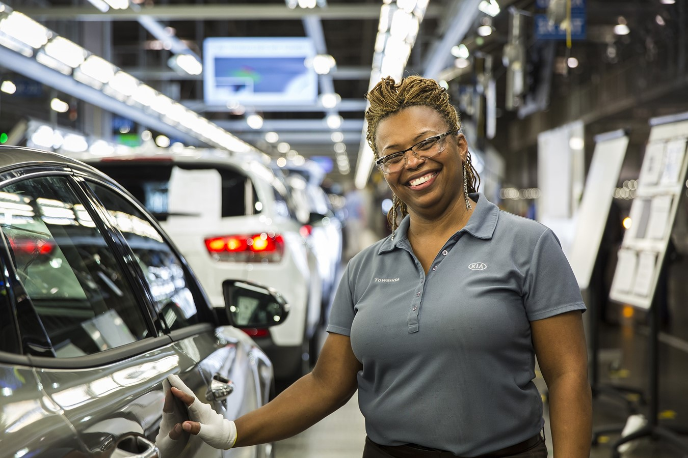 KMMG team members work each day to produce world-class quality products. Just recently, the one millionth Sorento rolled off KMMG's assembly line in West Point, Ga.