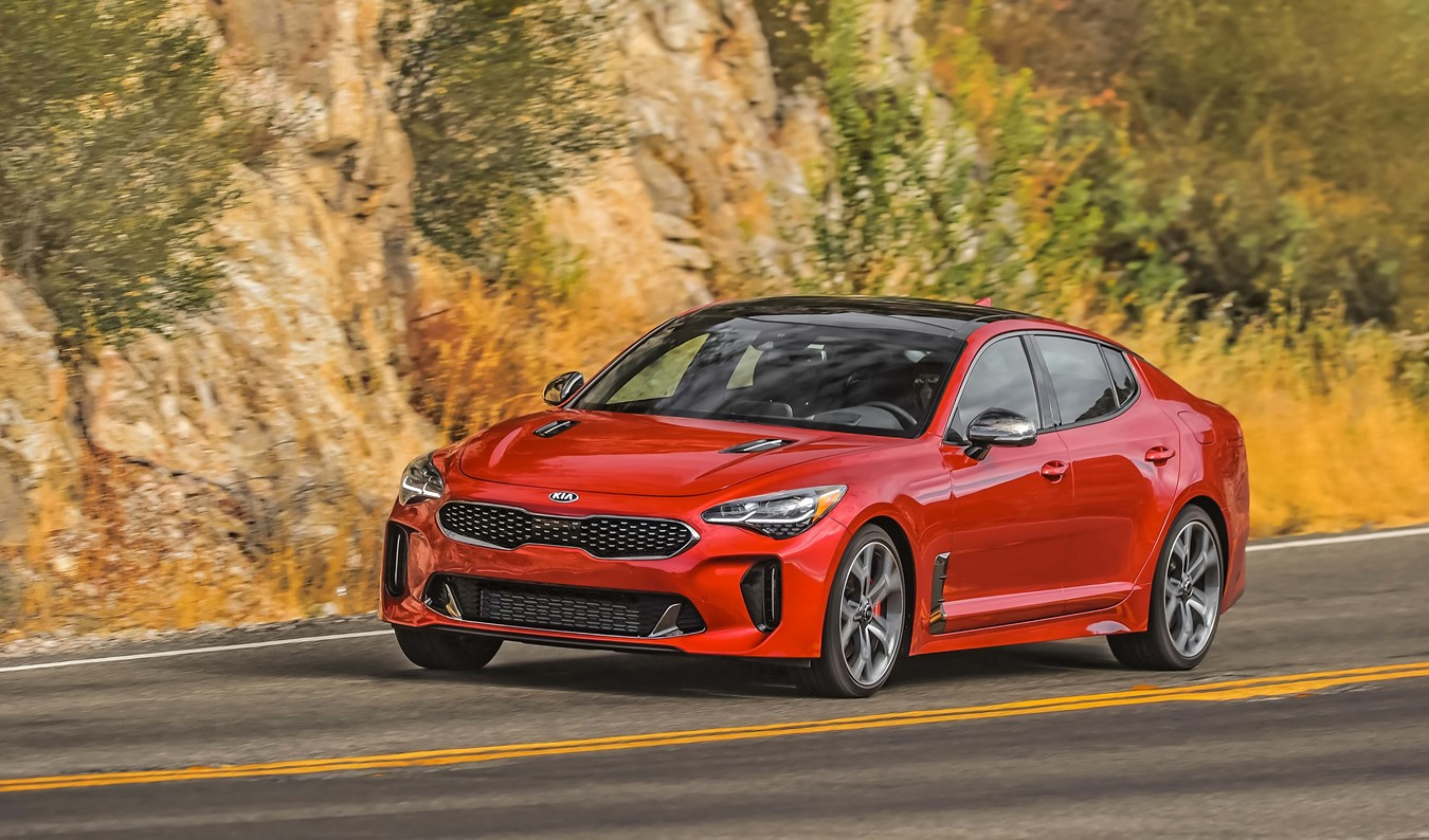 Kia Stinger Wins Roadshow By Cnet Shift Award For 2018 Vehicle Of