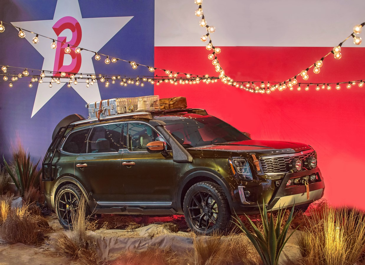 ALL-NEW KIA TELLURIDE MAKES TEXAS-SIZED STATEMENT ON BRANDON MAXWELL'S RUNWAY AT NEW YORK FASHION WEEK B-ROLL