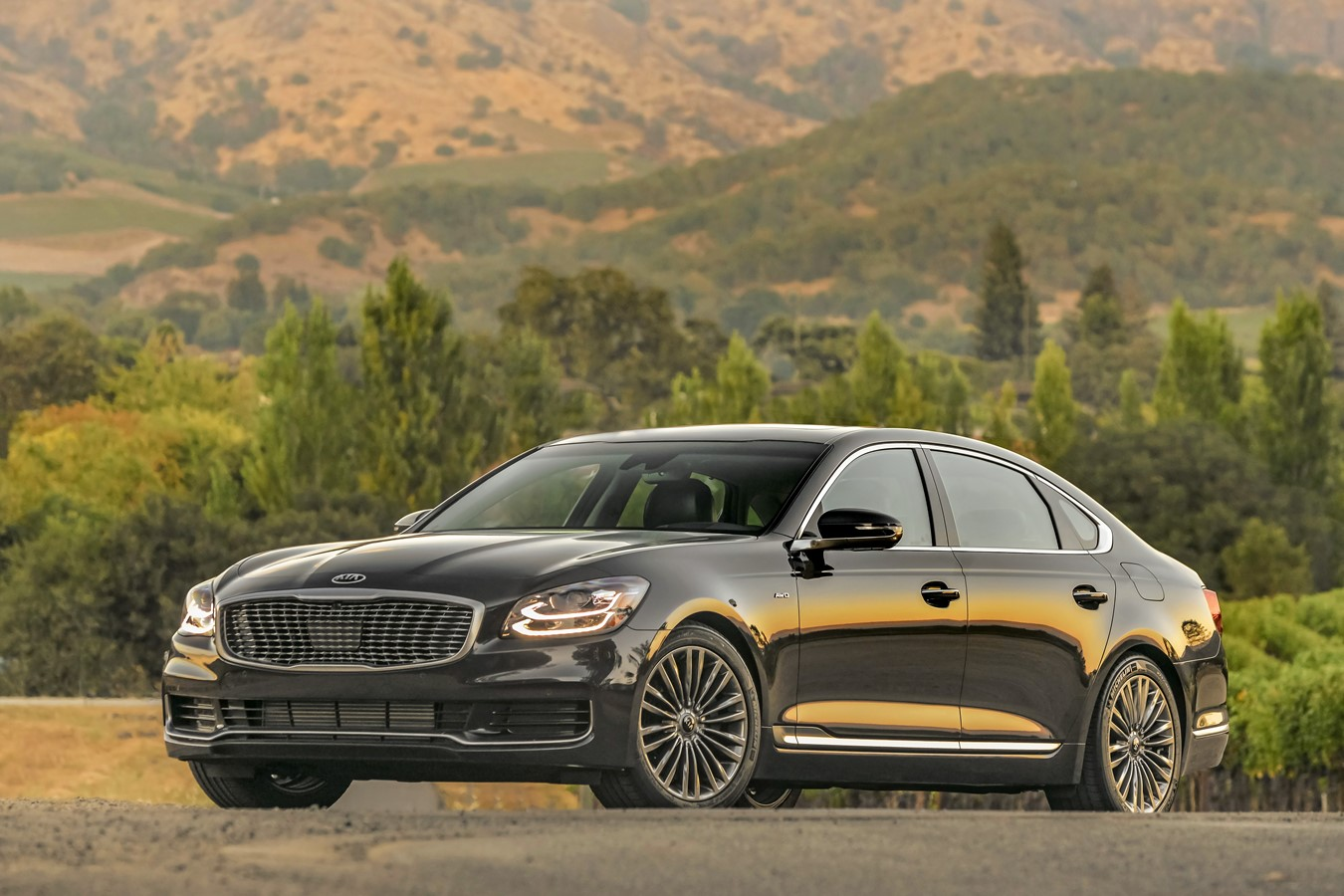 All New 2019 K900 Marks New Pinnacle Of Luxury Technology Driving