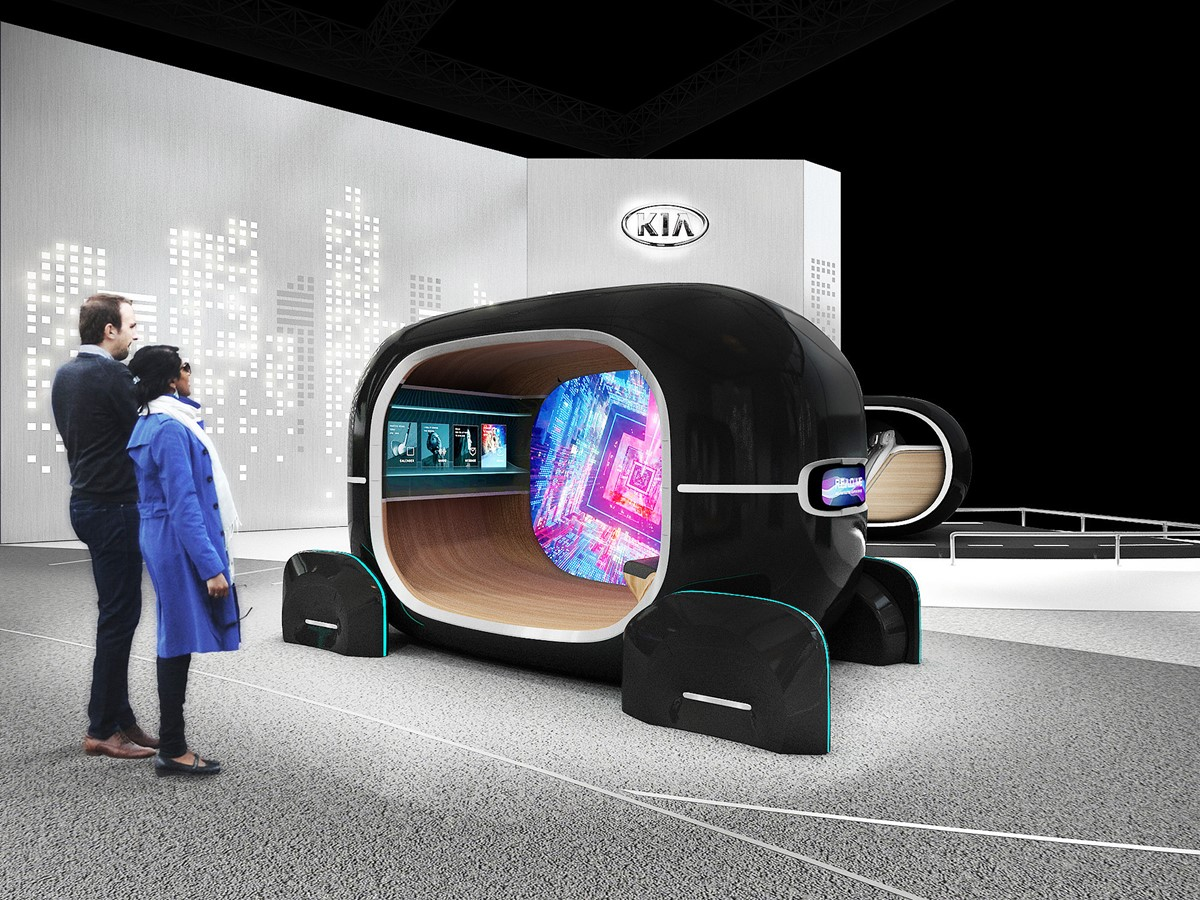 Kia to unveil new in-car tech for the future 'emotive driving' era at CES 2019