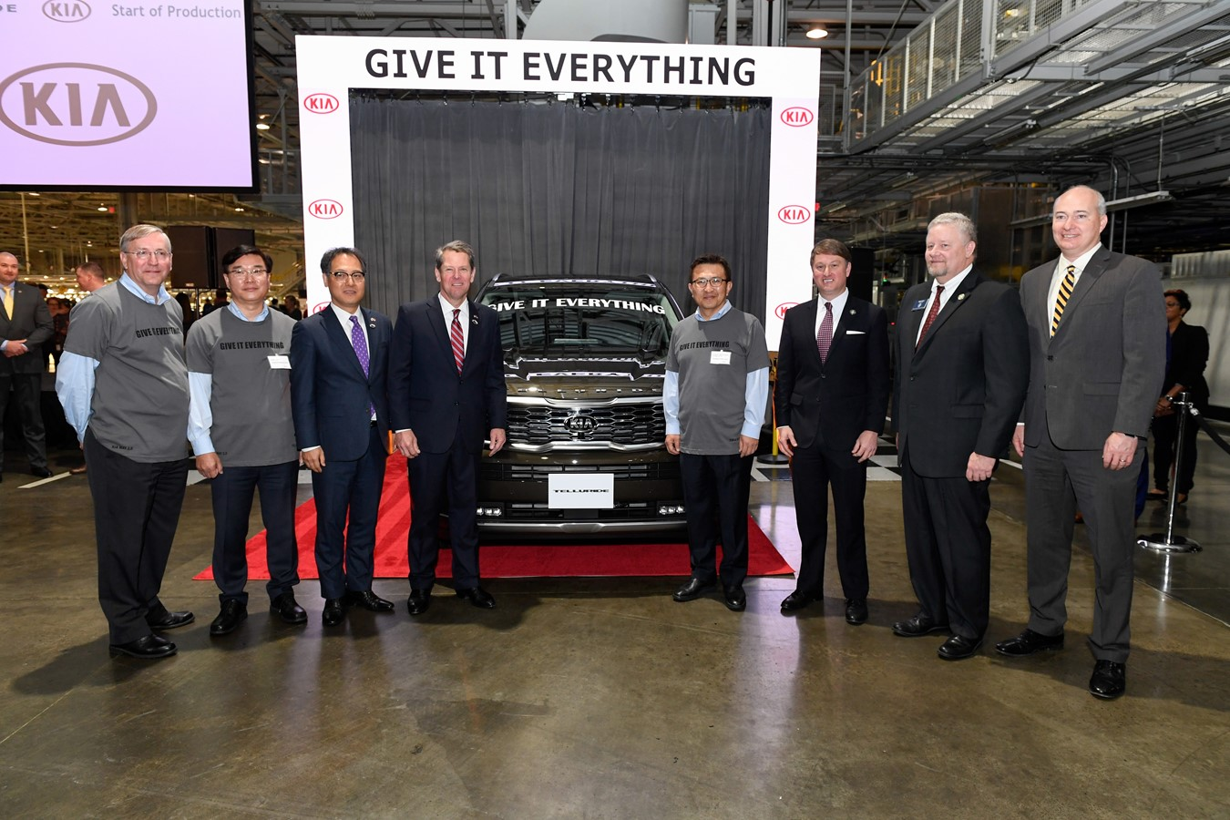 Kia Motors Manufacturing Georgia Begins Production of All-New 2020 Kia Telluride