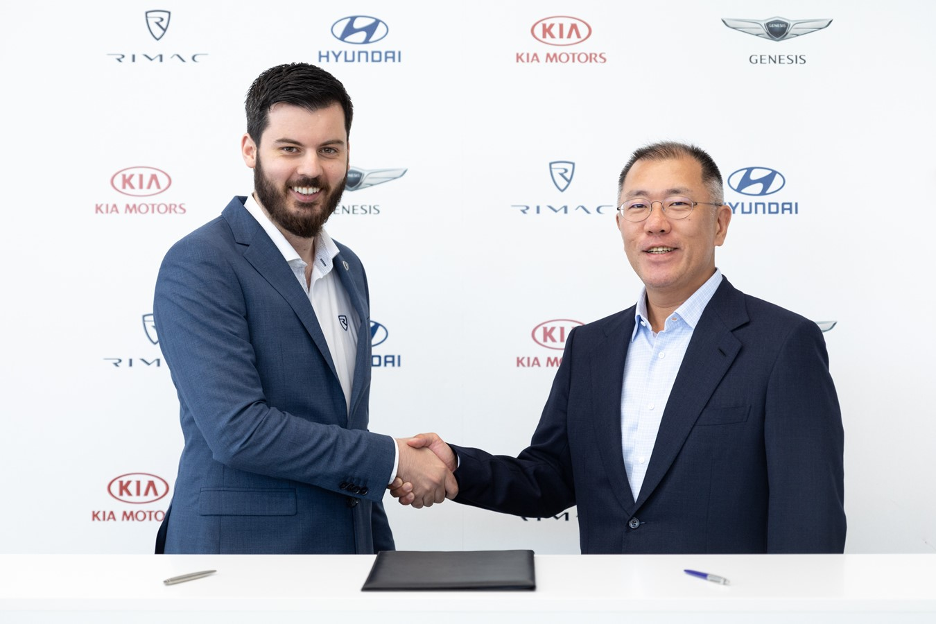 HYUNDAI MOTOR GROUP PARTNERS WITH RIMAC TO ACCELERATE DEVELOPMENT OF HIGH-PERFORMANCE EVS
