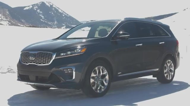 2018 Stinger and 2019 Sorento Snow Driving - 1080 - Long version