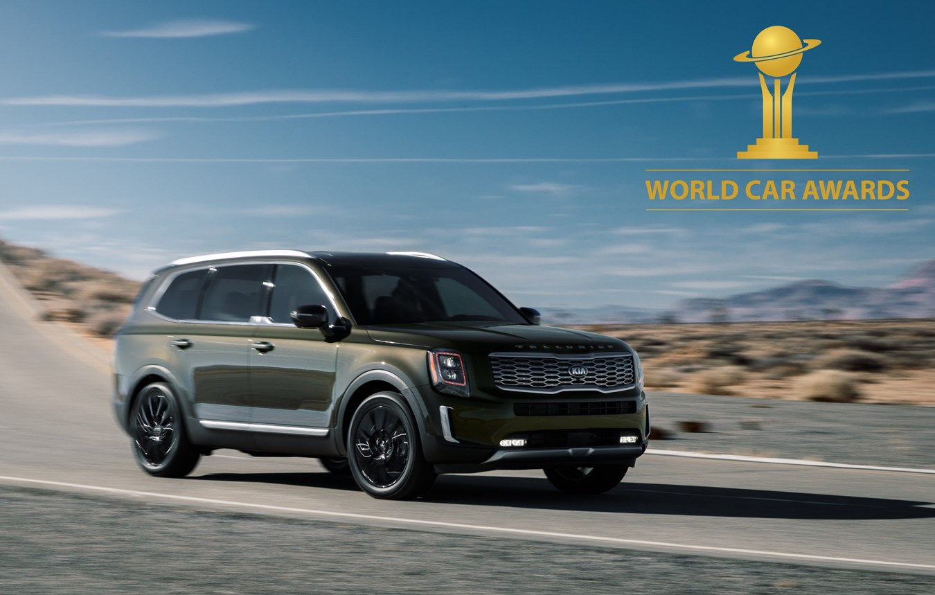 Kia Telluride SUV crowned World Car of the Year