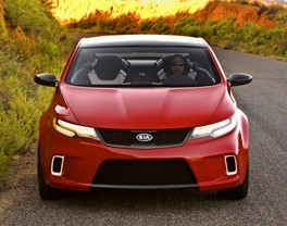 KIA DEBUTS KOUP CONCEPT AT 2008 NEW YORK INTERNATIONAL AUTO SHOW