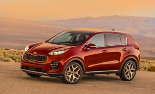 Kia Sportage National Press Introduction