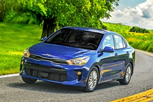 2018 KIA RIO RECEIVES TOP SAFETY PICK PLUS RATING FROM  INSURANCE INSTITUTE FOR HIGHWAY SAFETY