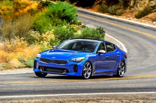 2018 Kia Stinger GT2 AWD - B-Roll