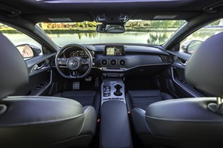 KIA STINGER NAMED TO AUTOTRADER'S 2018 10 BEST CAR INTERIORS UNDER $50,000