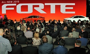 Kia 2018 Detroit Auto Show Press Conference