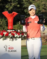 EUN-HEE JI DRIVES AWAY FROM KIA CLASSIC WITH TWO NEW VEHICLES FOLLOWING TOURNAMENT VICTORY AND A HOLE-IN-ONE