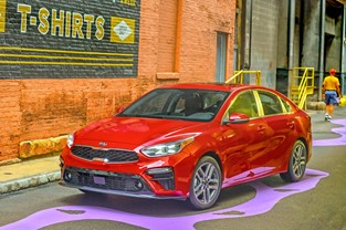 2019 KIA FORTE WINS SOUTHWEST LIFESTYLE VEHICLE OF THE YEAR AWARD