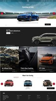 KIA MOTORS AMERICA LAUNCHES REDESIGNED KIA.COM