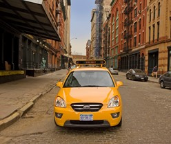 ALL-NEW KIA RONDO: THE NEXT NEW YORK CITY TAXI CAB?