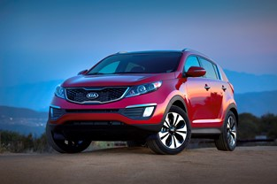 "2013 KIA SPORTAGE GIVEN ""BEST BET"" DISTINCTION BY THE CAR BOOK"