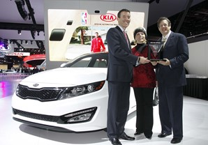 2013 KIA OPTIMA NAMED 'INTERNATIONAL CAR OF THE YEAR'