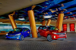 2014 Sorento and 2014 Forte Sedan National Press Introduction