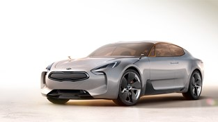 KIA MOTORS' GT CONCEPT VEHICLE SIGNALS A NEW DESIGN DIRECTION FOR THE BRAND AT THE 2011 LOS ANGELES AUTO SHOW