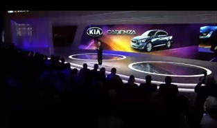 2013 Chicago Auto Show Press Conference - Video still