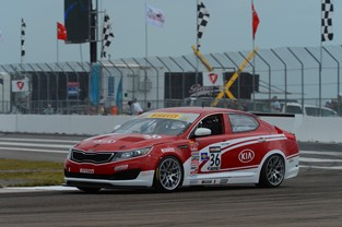 #36 Kia Racing Turbocharged Optima
