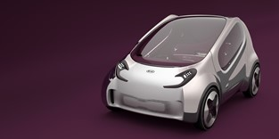 KIA MOTORS SHARES A VISION FOR THE FUTURE OF URBAN ELECTRIC TRANSPORTATION WITH THE POP CONCEPT CAR AT 2010 LOS ANGELES AUTO SHOW