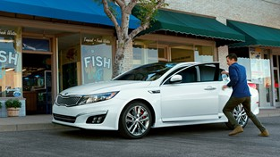 REDESIGNED 2014 KIA OPTIMA SAVES THE DAY WITH TECHNOLOGY AND TURBOCHARGED PERFORMANCE IN NEW SPANISH-LANGUAGE ADVERTISING CAMPAIGN