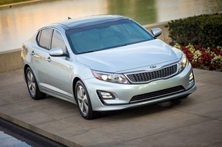 2014 KIA OPTIMA HYBRID UNVEILED AT CHICAGO AUTO SHOW