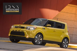 Kia receives IDEA Bronze for the distinctively hip 2014 Soul